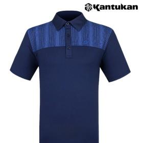 [칸투칸] T270 기획 기능성 베이직 남성 카라 티셔츠