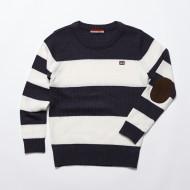 공용 스트라이프 스웨터(JT3ZKT804UL-NV)