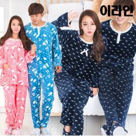 BEST 인기 겨울잠옷 총출동~커플 수면잠옷/원피스/수면바지
