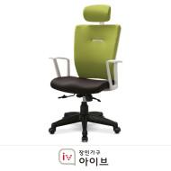 홈오피스 의자 패브릭(블랙, 그린, 블루, 레드)