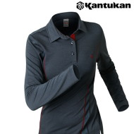 [칸투칸] T741 단아한 여성 카라티셔츠
