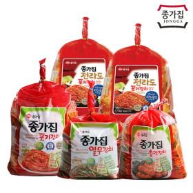 [종가집] 포기김치 8kg 외 별미김치 세트 특가전