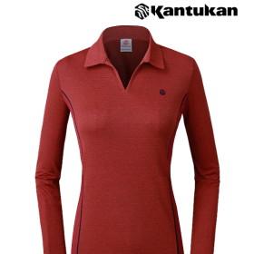 [칸투칸] T574 로즈베이 여성 카라 티셔츠