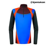[칸투칸] KTFA83 컬러웨이 바이오 남성 집업 티셔츠