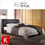 아망뜨(Amante) PU가죽 평상형 9zone 독립매트리스 침대(K) (2종중택1)