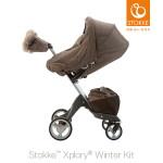 [스토케]유모차 윈터키트(Winter Kit) - 다크 브라운 멜란지(Dark Brown Melange)