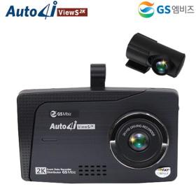 박기량 GS엠비즈 2채널 2K풀HD 블랙박스 ViewS2K 16GB/32GB (ADAS/터치스크린)