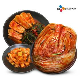 깐깐한 기준과 엄선된 재료로 만든 CJ프레시웨이 김치 모음!