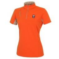[티셔츠]LD CRESTE(크레스트) 폴리메쉬 웰딩 반짚업 반팔 T(LOJUT555)