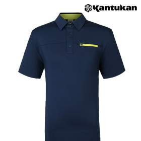 [칸투칸] T273 포켓 포인트 남성 카라티셔츠