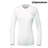 [칸투칸] KTFE96 실크드라이 W 브이넥 티셔츠