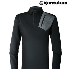 [칸투칸] T370 에어로웜 기능성 포켓 카라 티셔츠
