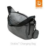유모차용 기저귀가방(Changing Bag) - 블랙멜란지(Black Melange)
