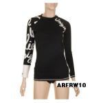 [아레나][여성레시가드] 여성 실내.실외용 레시가드(ARFRW10)BLK