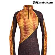 [칸투칸] T711 가을을 담은 여성 에어로웜 티셔츠