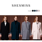 SHESMISS 쉬즈미스 와플 코트