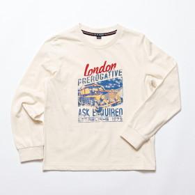 남아 런던 라운드 티셔츠(JT3ZTR803ML-IV)