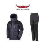 [남성] BFL 겨울등산복 덕다운점퍼+기모본딩팬츠 세트