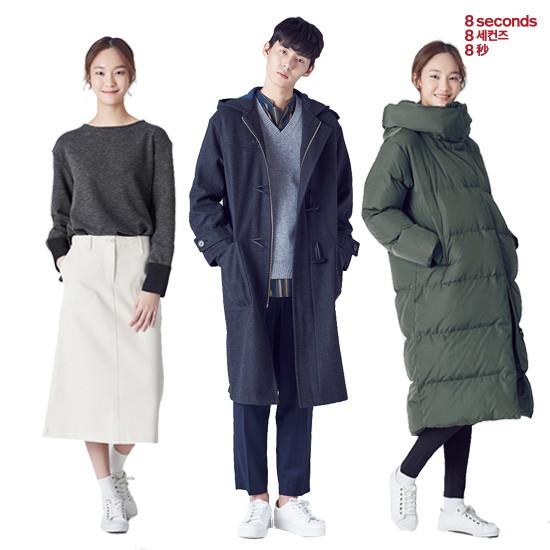[에잇세컨즈] 코트/패딩/가디건/니트 BEST