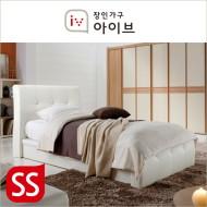 아망뜨(Amante) PU가죽 평상형 본넬매트리스 침대(SS) (2종중택1)