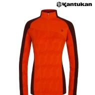 [칸투칸] T703 웜테크 슬림라인 스트레치 여성 티셔츠