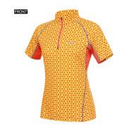 S/S 여성용 등산티셔츠 LD 스톤에이지 반팔 짚업 티셔츠  ( MMHUT615 )