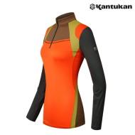 [칸투칸] KTFE24 컬러웨이 바이오 여성 집업 티셔츠