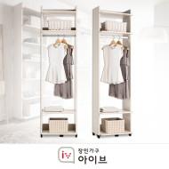 퍼즐 드레스룸 600 긴옷형(화이트 오크)