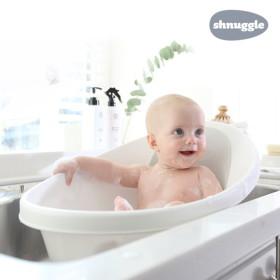 혼자서도 쉬운 목욕 아기욕조 슈너글