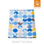 미니침대시트(Mini Flat Sheet)-실루엣블루