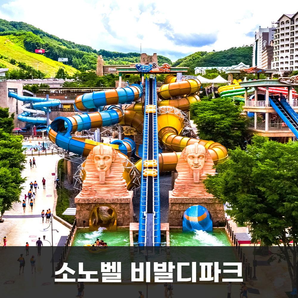 한투어 (금요일) 패밀리/소노벨비발디파크 오션월드2인패키지 (8.22-10.31)