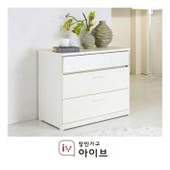 [장인가구]로잔 3단서랍장 (거울미포함)