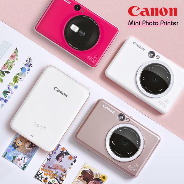 캐논 캐논 정품 포토프린터 인스픽S2 + 사은품 증정 혜택 폴라로이드 용지포함