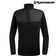 [칸투칸] T453 이중넥 남성 보온 티셔츠