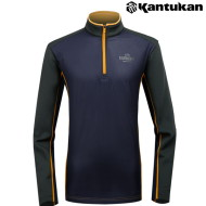 [칸투칸] T494 플리전트 골프 남성 보온 티셔츠