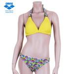 여성 비치 2PCS 비치웨어 수영복 [[AQSSM11]] YEL