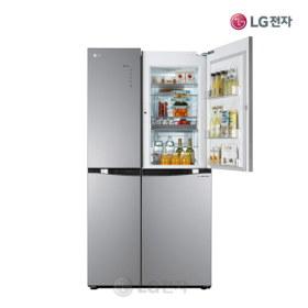 디오스 매직스페이스 양문형냉장고 S825TS35 (825L/스타리샤인/스마일핸들)