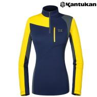 [칸투칸] T837 아시머트리 포인트 여성 보온티셔츠