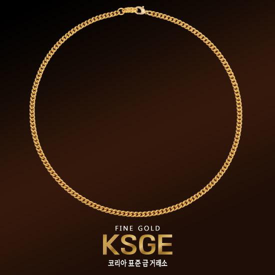 f1289cc3a27 [코리아 표준 금거래소]ㅁ[KSGE] 순금 와이드 체인 목걸이