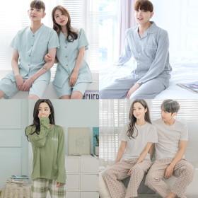 면100% 라운지웨어/이지웨어/홈웨어/커플잠옷/신혼부부잠옷