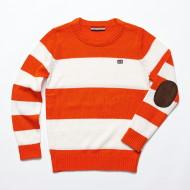 공용 스트라이프 스웨터(JT3ZKT804UL-OR)