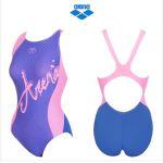 [아레나]여성 일반 원피스 실내 수영복 (AQBLX010) PNK