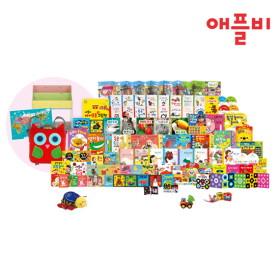 [최신판 포함] 애플비 뉴 입체 토이북 전89종 (애플비 전면책장+부엉이 가방+베이비포스터 포함)