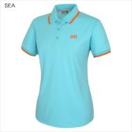 14년 S/S 시즌 [밀레]여성용 등산티셔츠 에션셜 폴로피케티_칼라팁 (MMJUT652)