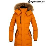 [칸투칸] J826 시베리아 헤비구스다운 여성 자켓