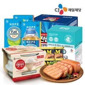 인기 BEST상품-햇반/스팸/팻다운/유산균 外 골라담기