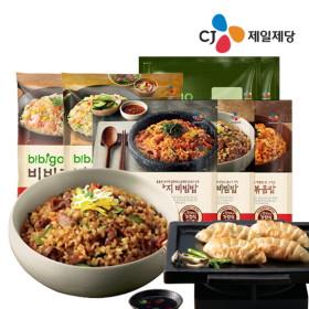 [옵션有] CJ 건강한 한상차림 비비고 즉석밥/비빔밥/나물밥