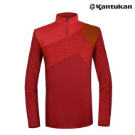 [칸투칸] KTFA86 레드 마타도어 남성 집업 티셔츠