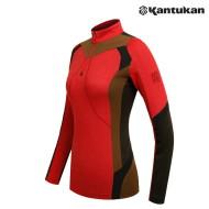 [칸투칸] KTFE38 노블W 자카드 여성 집업 티셔츠