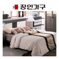 [장인가구]블리스 평상형 (Q) 침대 (라텍스매트 포함)